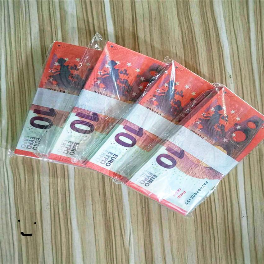 Приграничное электронной коммерции 10 eurosss завод прямые продажи банкнот банкнот игрушка учебное пособие набор фальшивые деньги