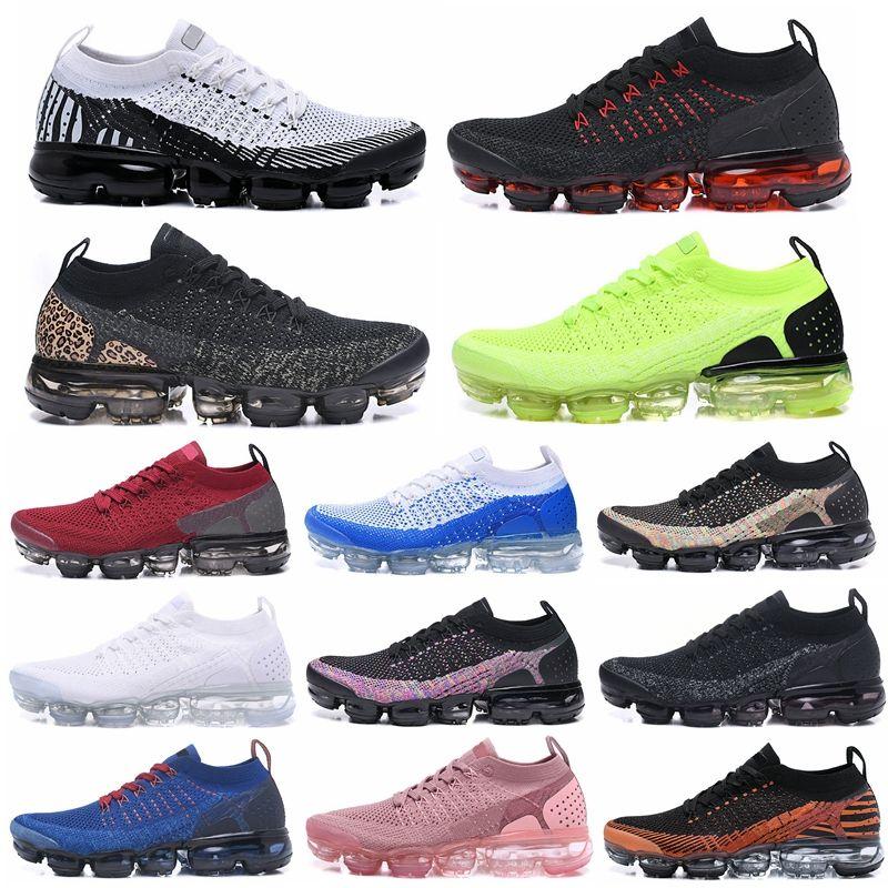 2.0 tejer zapatillas de deporte de los zapatos corrientes de la mosca 2.0 Orbit Hombres Mujeres cebra BHM Zapatos rojos de oro metálico Triple Blanco Negro Deportes al aire libre