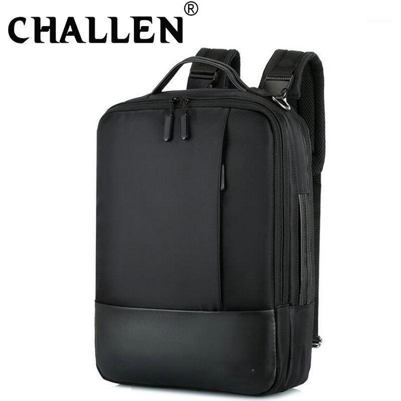 Homens mochila grande capacidade de negócios laptop mochila ao ar livre multifuncional viagem saco estudante saco de escola c45-011