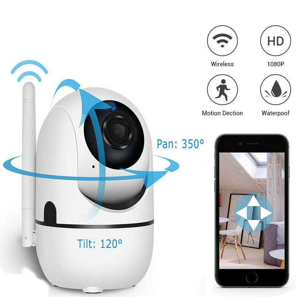 1080 P Bulut Kablosuz IP Kamera Akıllı Parça İnsan Mini WiFi Kam Ev Güvenlik Webcam Gözetim CCTV Ağ Bebek Pet Monitor Gece Görüş