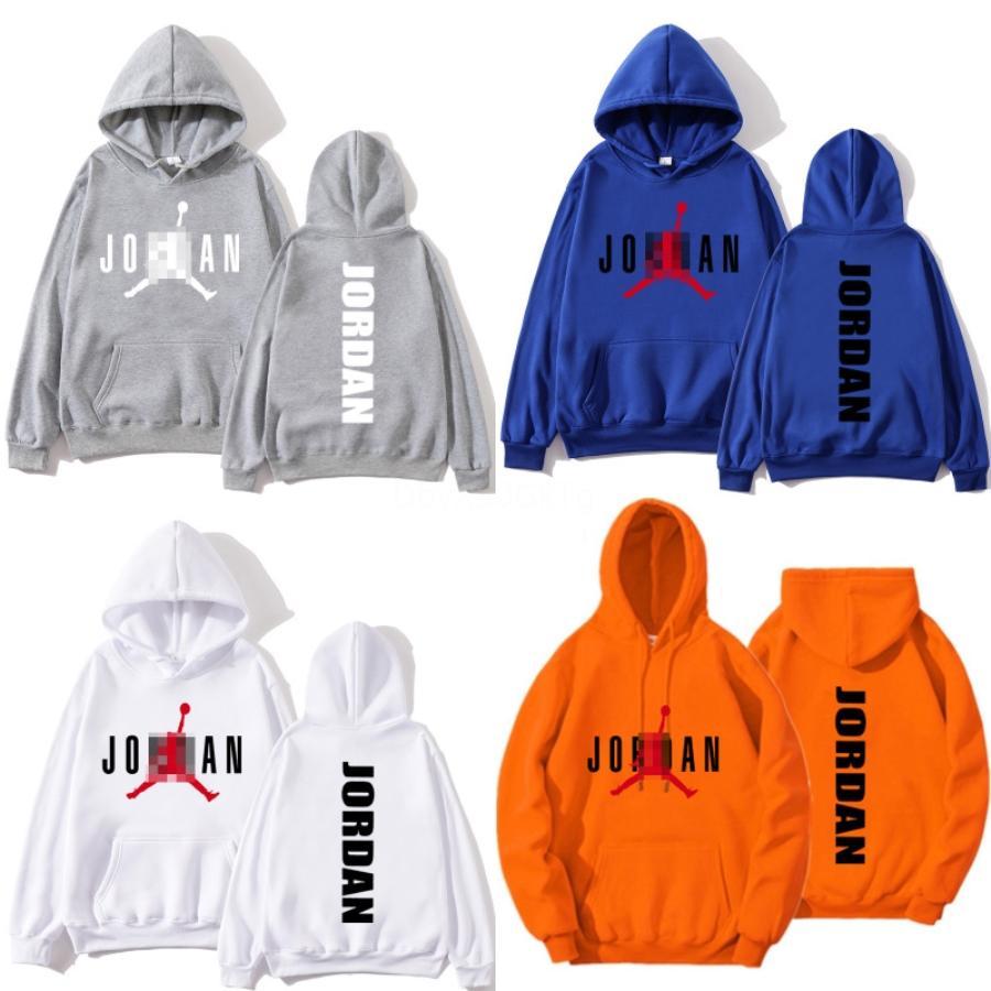 Vente en gros nouveau Casual hommes Vêtements de sport à capuchon AJ AJ Sweat Hommes de couleur unie Pull 2020 Mode Hommes Sweat à capuche Survêtement # 316