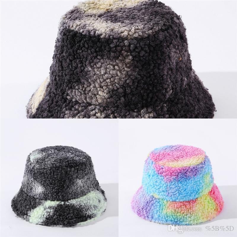 SCR4 Kış Sıcak Katlanabilir Yün Kova Şapka Kadınlar Için Yüksek Kalite Tasarımcı Katı Ağız Balıkçı Şapka Balıkçı Şapka Disket Güneş Koruma