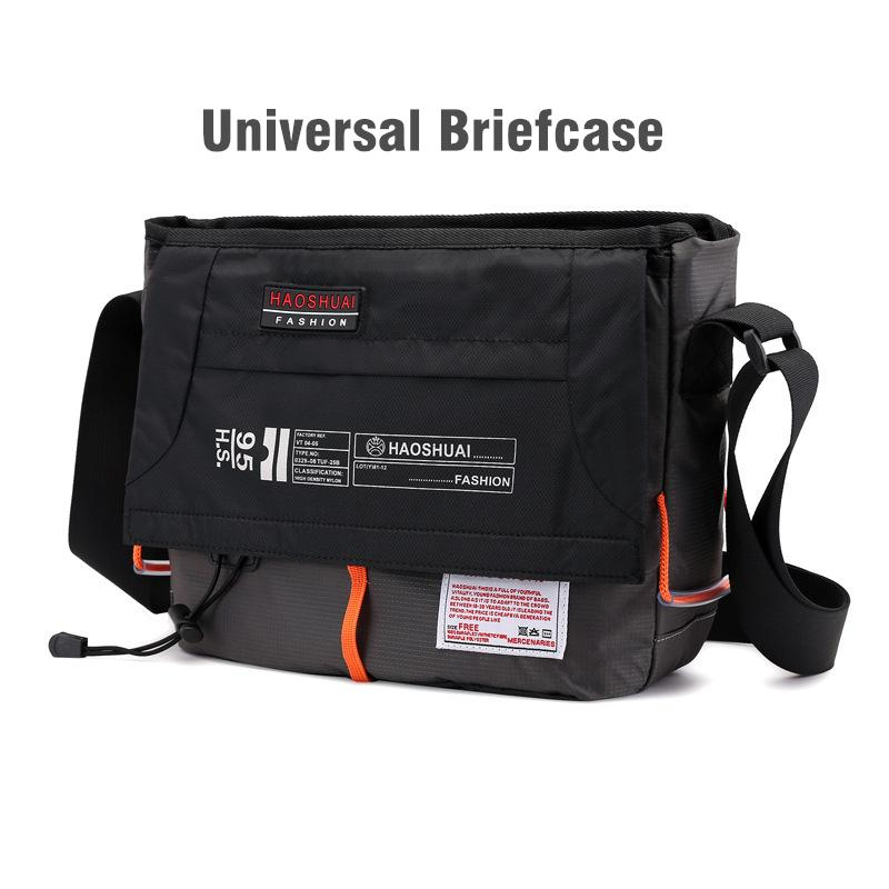 HBPUniveral Briefcase Men Women Casual Nylon High Quality Waterproof Crossbody Shoulder Handbag Sport Outdoor Travel Messenger Bag Q0112