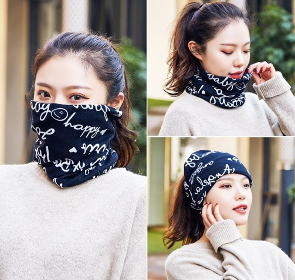 Masks Protection Face Cover Kid's winter Summer Outdoor Cycling Scraf Bandana Neck Children Anti-fog Headwear PM2.5 Mask Without Filter KR