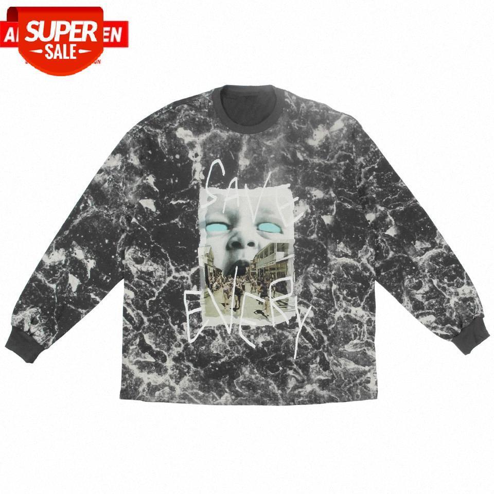 Pull d'hiver Mens Hip Hip Hop Hood Sweat à capuche Men Streetwear Cravate Teinture Scary Essayer Boy Print Harajuku Sweat Sweat-shirt # 0x8g