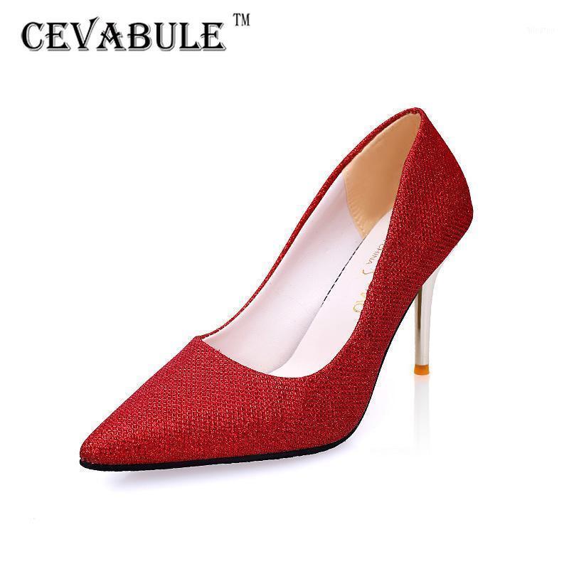 Sapatos femininos de cevabule outono novo das estrelas você com saltos altos pontiagudos sapatos de nightclub saltos altos lss1