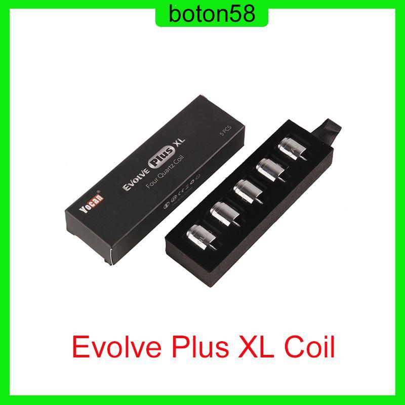 Evolve Plus XL Cire Quad Quad quatz quatz tige bobines avec bouchon de bobine pour le kit de stylo DAB Evolve Plus XL DHL 0266167