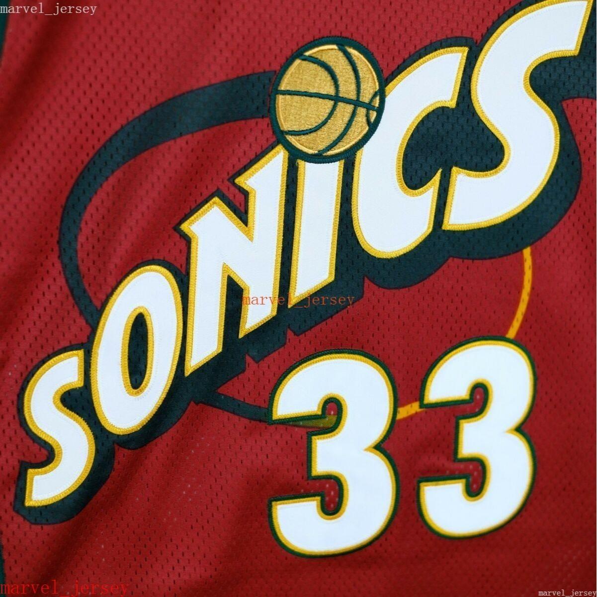 Personalizzato cucito Patrick Ewing Vintage Champion Jersey Red XS-6XL Mens Throwbacks Pallacanestro Maglie da basket Uomini economici Donne Gioventù
