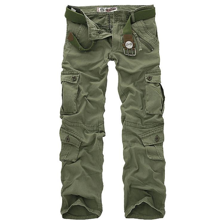 Herrenhose Männer Cargo Carouflage Hosen für Man 7 Farben