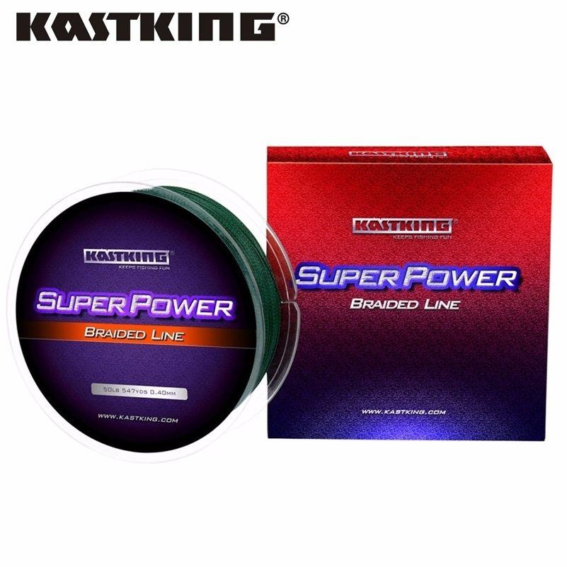 Kastking SuperPower 500 m Línea de pesca trenzada de PE extremadamente baja Memoria Multifilamento Fuerte línea de pesca de carpa Pesca de agua salada 201228