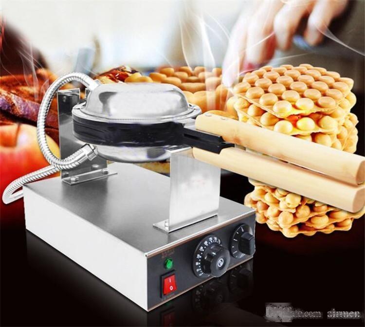 الأطعمة الجديدة هونغ كونغ لذيذ البيض الهراء صناع آلة 220V 110V البيض النفخات صانع فقاعة الهراء بيع آلة DHL FEDEX الحرة