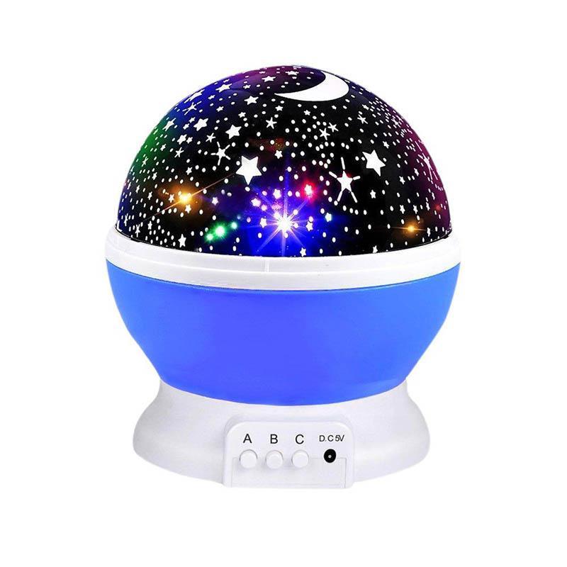 360도 로맨틱 룸 회전 우주 스타 프로젝터 빛 별이 빛나는 하늘 문 밤 프로젝터 아이 침실 램프 크리스마스