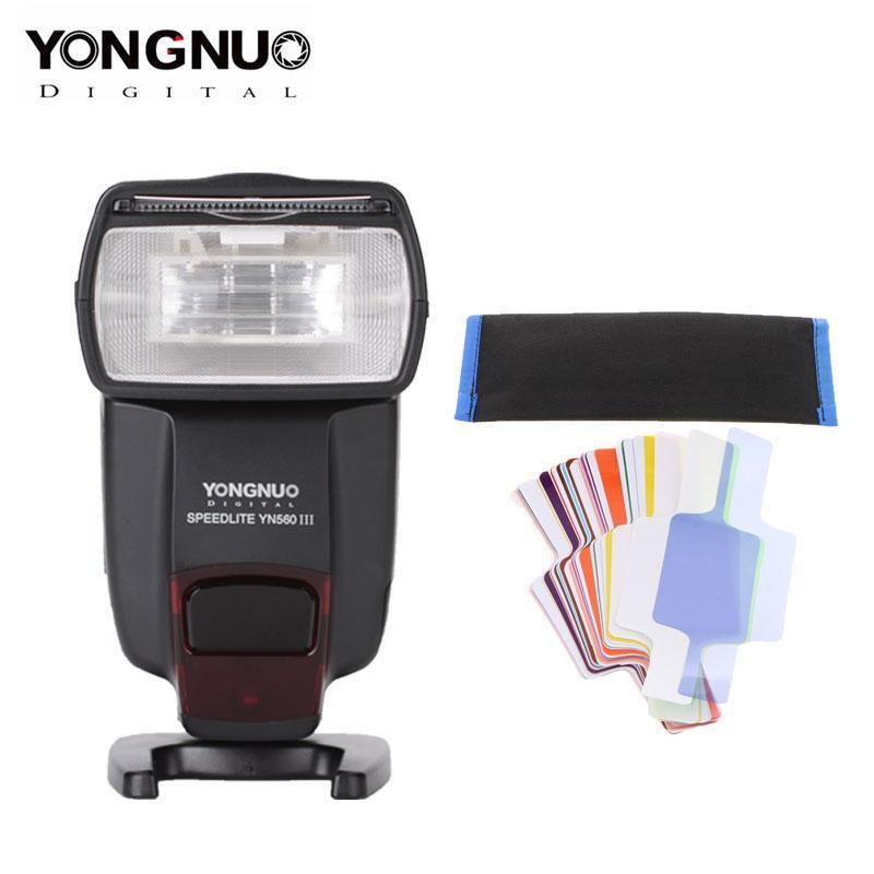 DSLR YONGNUO Speedlight YN560III YN560III YN560 IV Flash wireless Speedlite per Pentax SLR Camera Flash