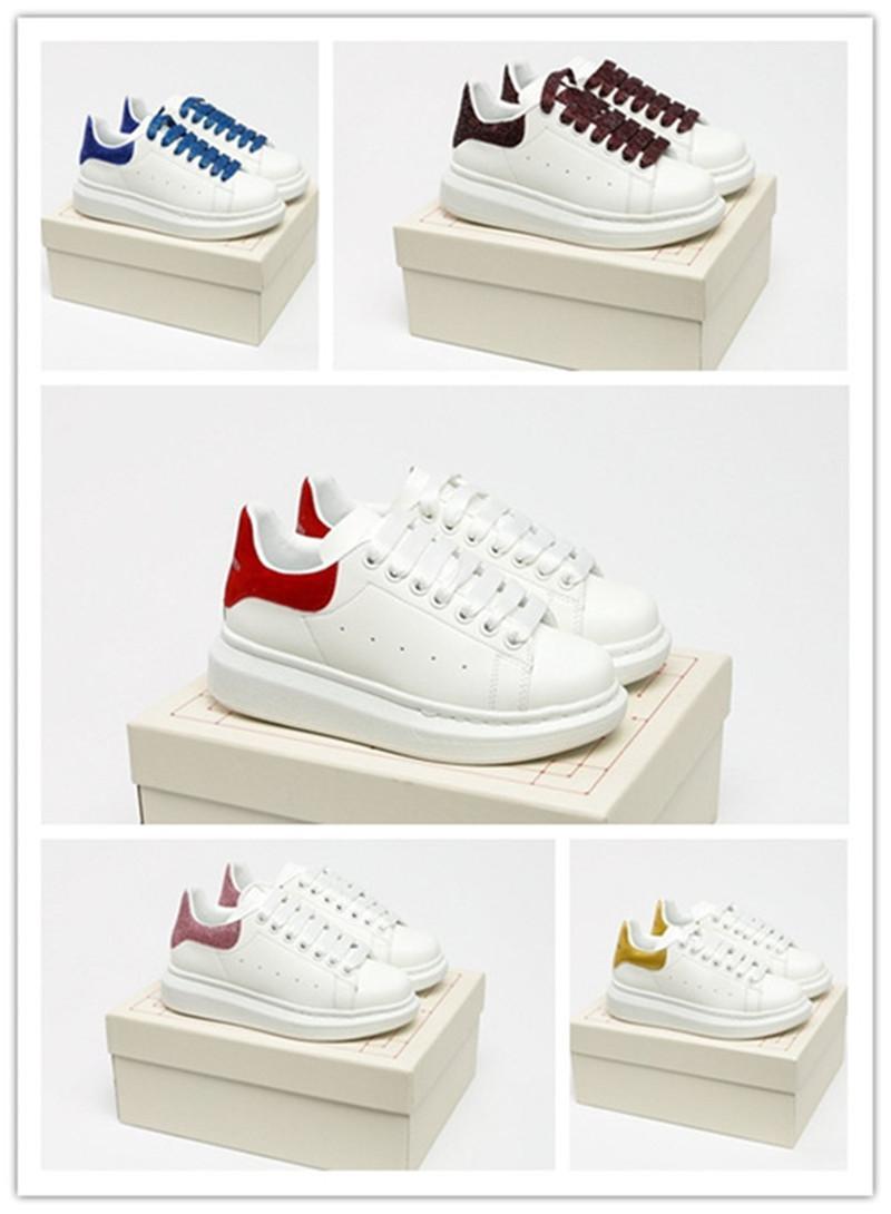 Casual Moda erkek ve kadın rahat ayakkabılar, platform ayakkabı, kalın tabanlı artan bağcıklı beyaz ayakkabı boyutu: 36-45