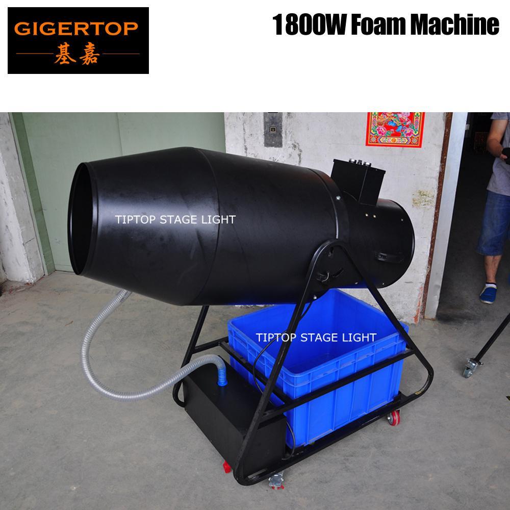 TIPTOP TP-T106 Super Big Espuma Máquina Oil alta velocidade sugam Bomba / fã de sopro de espuma saída Volume 20m3 / min Elétrica Controle Manual