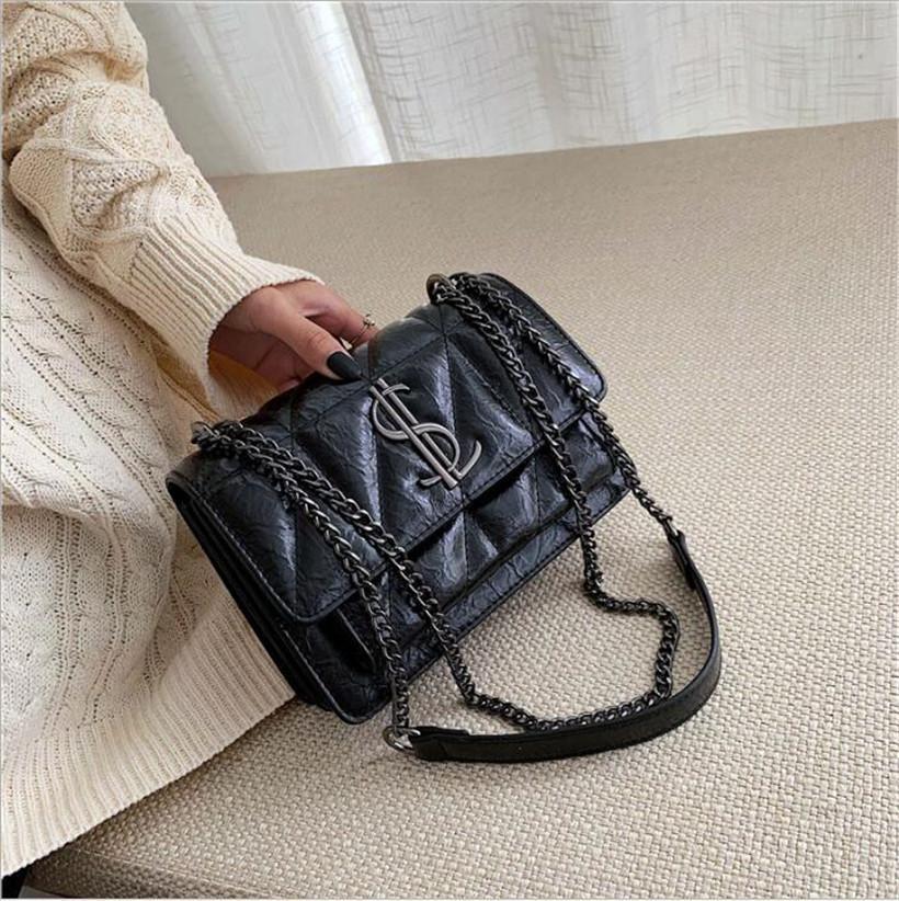 Moda Pequeno Hot 2020 Bag Messenger Mulheres Casual Couro Bolsas De Couro Designer Uma Venda de Pu Mulheres Sacos Bolsas Crossbody Sac Mai Fksgr
