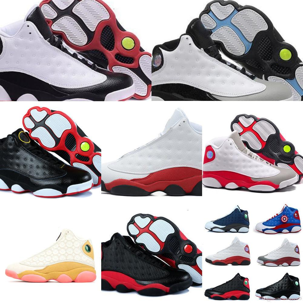 13s homens Ilha Mulheres verdes Shoes Cny 13 basquete para Red Bred Castanho Branco Holograma Flints Grey Sports SneakersP7FSP7FSP7FS04R804R804