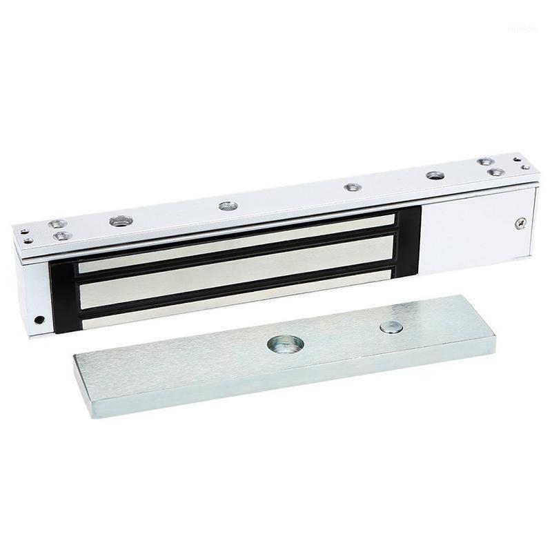 Controle de Acesso de Impressão digital 12V Fechadura de porta netic eletrônica 280 kg (600 lb) Holding Force com LED Light1