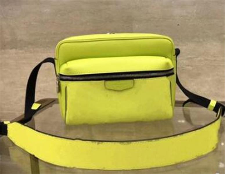 Alta calidad Bolsa de cintura al aire libre bolsa real bolsos de cuero para hombre Marca famoso diseñador de los bolsos del bolso de cuero del diseñador del monedero del hombro del bolso M30242