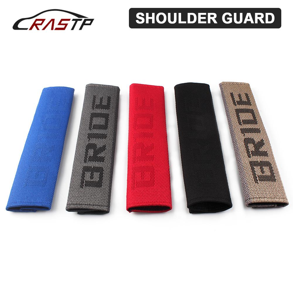 Bandoulière douce 1 paire JDM style ceinture de sécurité Couverture de coussin de coussin de tissu universel protecteur de sécurité Bandoulière sac042