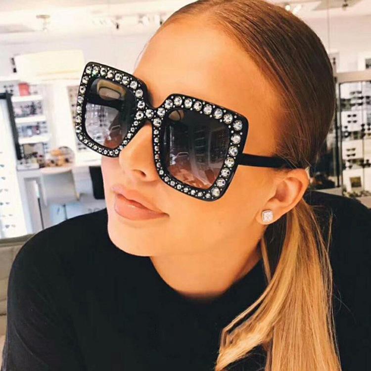Солнцезащитные очки Oculos Hot Sun Luxury Designer Женщины Бренд Очки Размер Градиентные Дамы Дешевые 2020 Модные зеркала Shades Xafqn