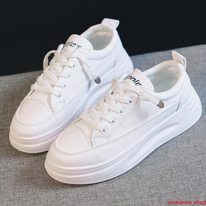 Nueva zapatilla de deporte ocasional de las mujeres blanco puro Todo-fósforo mujeres de la manera del paño al aire libre tamaño de los zapatos zapatillas de deporte de envío libre 36-39