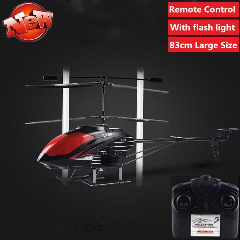83 см Super большой RC Quadcopter со вспышкой 6 оси гироскоп дистанционного управления вертолетом 3D зависание RC самолет 83см большие игрушки