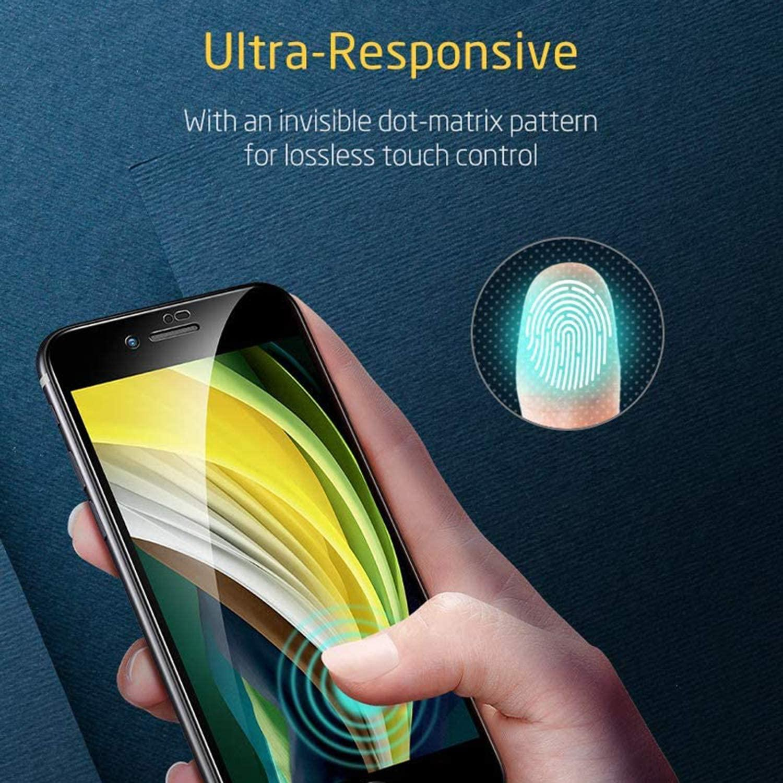 Cobertura completa de vidrio endurecido iPhone7 iPhone8 IP IP IPH HD Película protectora de teléfono móvil de 5,5 pulgadas (alrededor) (negro, blanco)