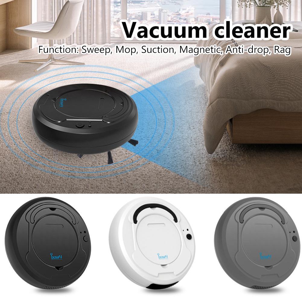 Интеллектуальный робот Подметальные 3-в-1 Бесшумный Strong Заключение Авто пылесос Smart Home Clean Dry / Wet покрытие Бесплатная замена частей бесплатно