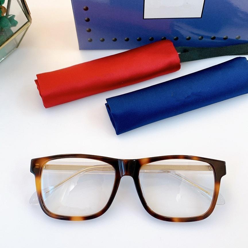 2021 نظارات جديدة مع المواد الراقية 0558S براعة رائعة، الساقين مرآة، نظارات مزاج الأزياء من نفس النمط للرجال