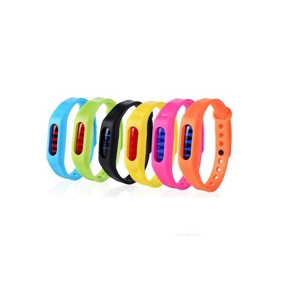 20 stücke Anti-Moskito-Schädling Insekten-Bugsabweisende Repeller-Handgelenk Band Armband Armbandschutz Moskito Deet-fre Qylew Bdetoys