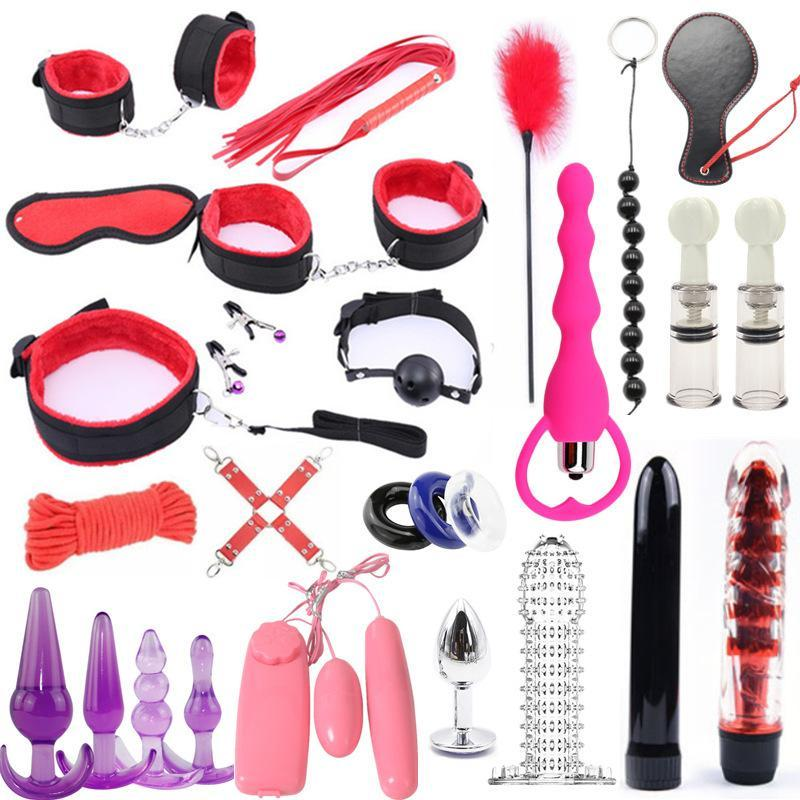 25 unids sexo tope 2 y200422 g enchufe bdsm vibratorn juguetes para bondage cubierta de esclavos de la esclava Penis de las esposas de los sexos para el conjunto de juegos de manchas anales Mujeres Dildo Uarfk