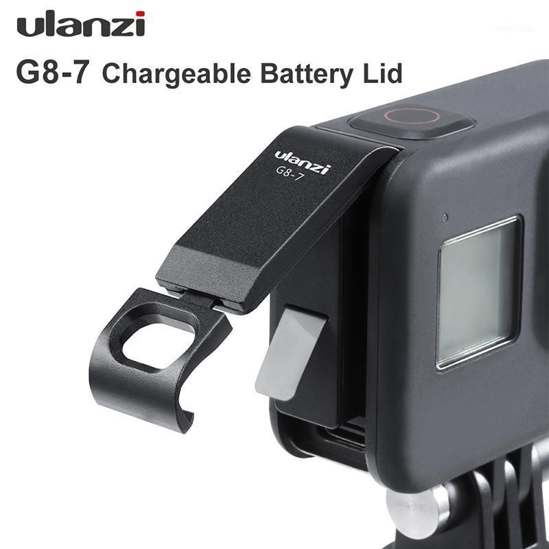 ACCESSOIRES DE STUDIO DE L'ÉCLAIRAGE ULANZI G8-7 8 COUVERT DE BATTERIE Couvercle détachable Port de chargement Cable C pour accessoires Hero1