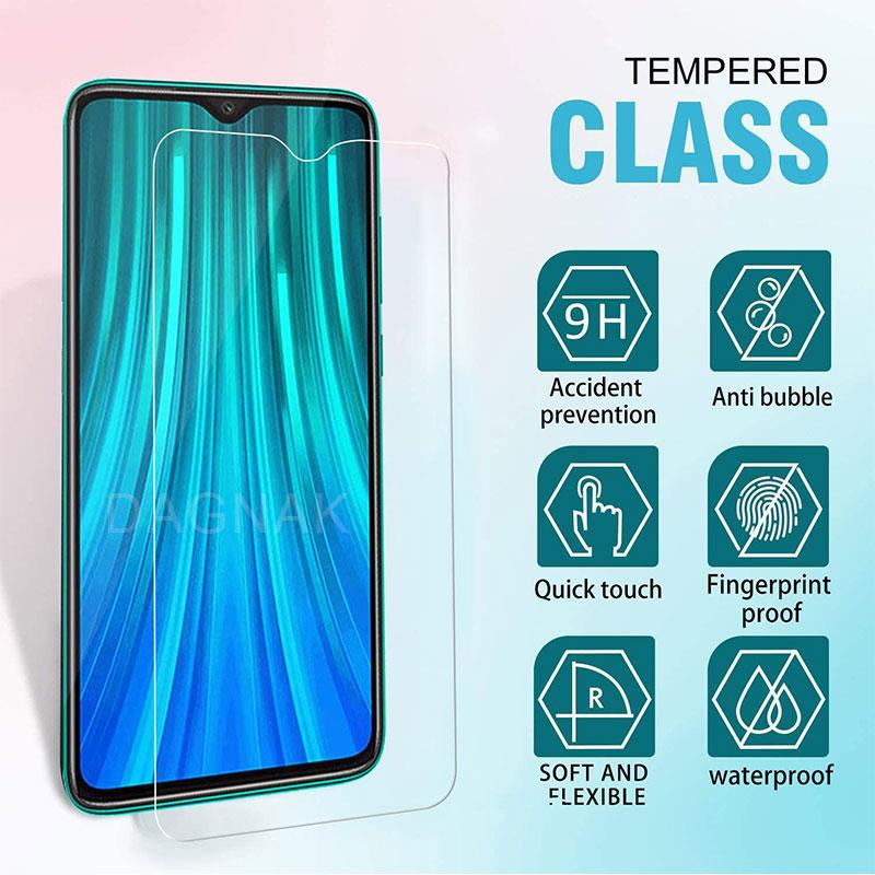 9H Tempered Protective Glass for Xiaomi Redmi Note 7 5 9 Pro 8T 9S Screen Protector Glass on the Redmi 7 7A 8 8A 5 Plus