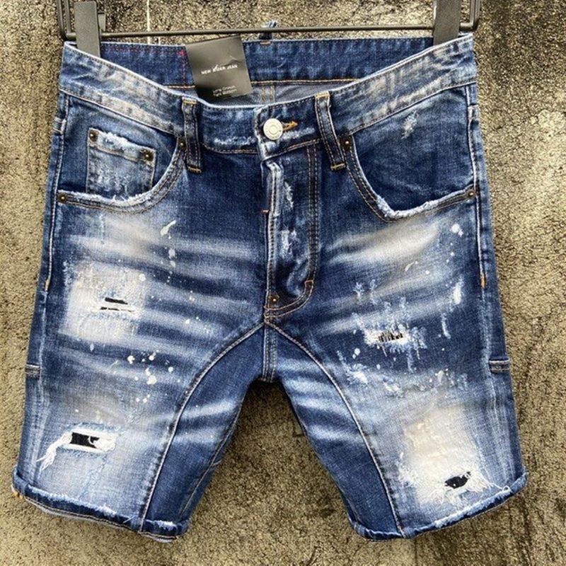 2020 Hot Marke Design Persönlichkeit Einfache Männer Jeans Top Beliebte Qualität Mode Luxus Cowboy Männer Heißer Verkauf D2049