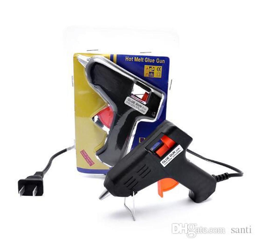 20W الكهربائية مسدس الغراء التدفئة هوت مسدس الغراء نذوب الحرف الألبوم إصلاح D7mm