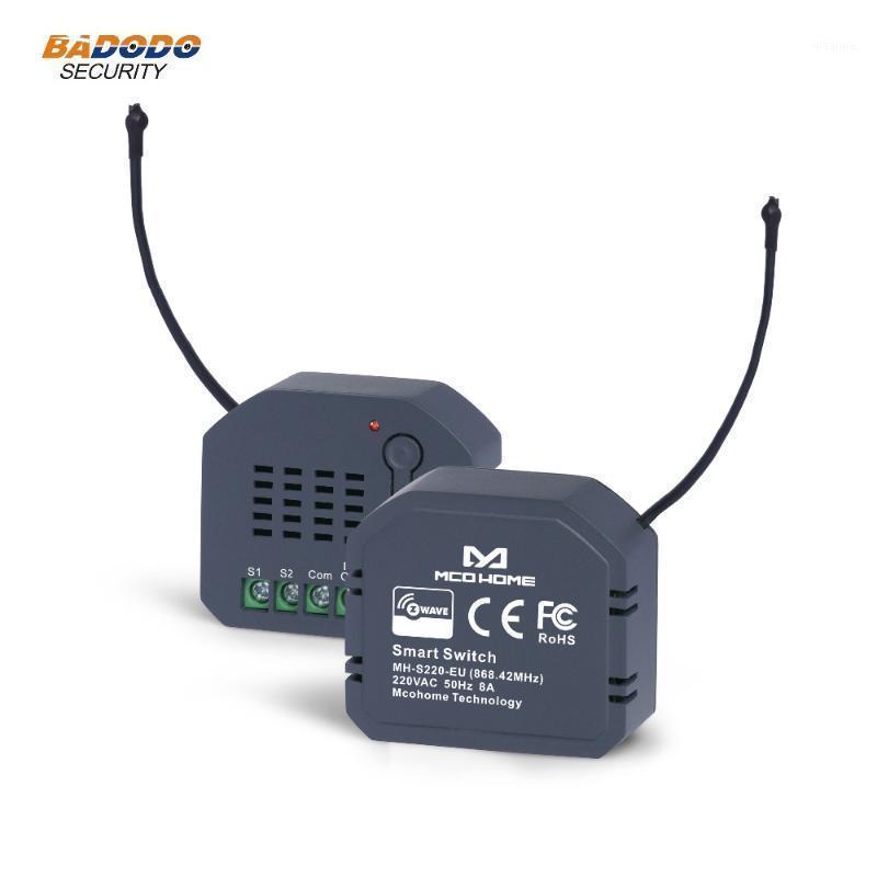 Smart Home Control Z-Wave EU 868,42 МГц в настенный модуль выключателя питания в одном реле вывод / выключение MCO MH-S220 для контроля света1