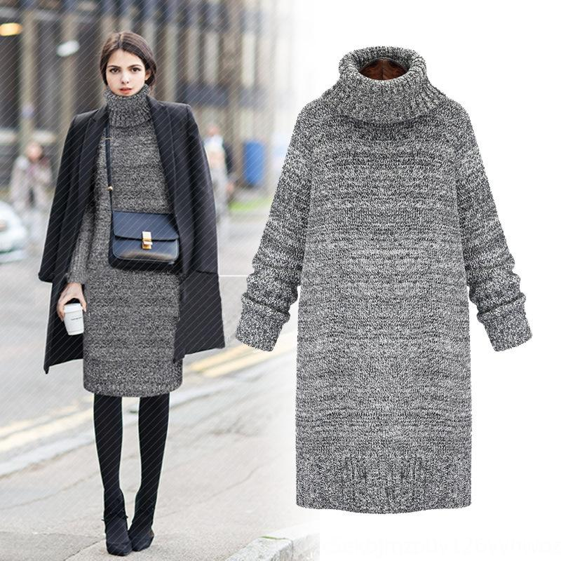 New high neck in autumn and winter 2020 New high neck warm Warm sweater sweater in autumn and winter 2020 wnC1G