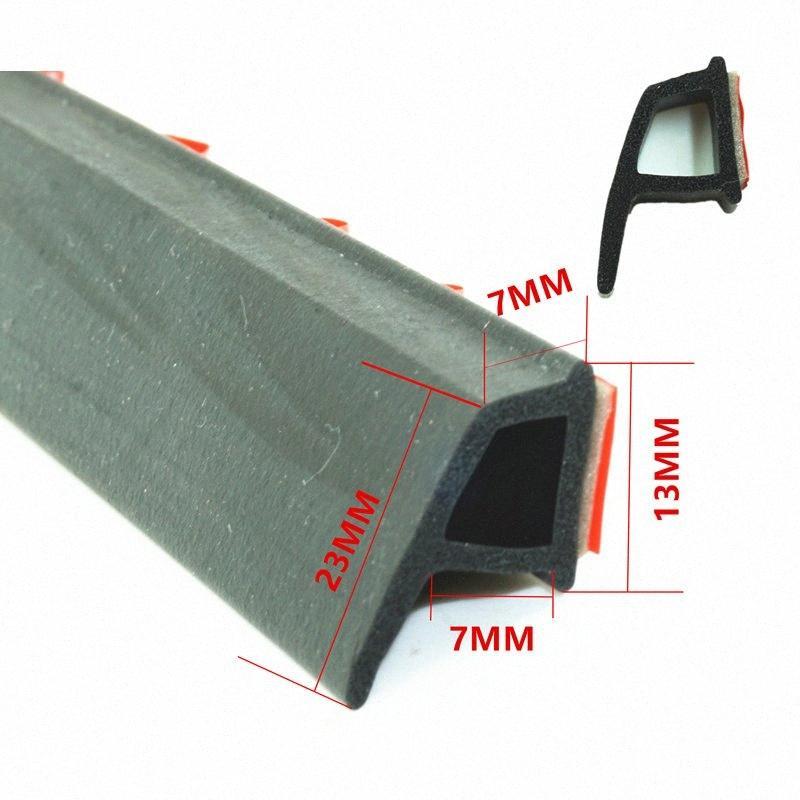 Sello de goma P Tipo de Auto Relleno adhesivo de sellado de la puerta de alta densidad de la puerta de coche de Gaza Ruido Aislamiento Accesorios Accesorios salpicadero En A80I #