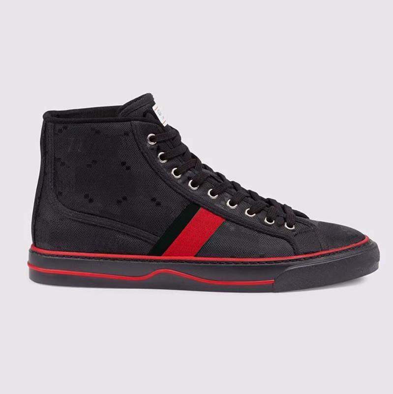 Top qualidade de couro homens mulheres sneaker piattaforma scarpe da tênis delle donne vintage instrutor scarpe spacer sneaker mulheres sapatos home01 02