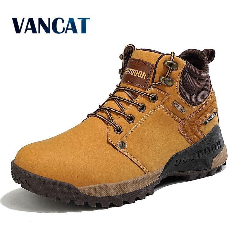 Marka Erkekler Sneakers Açık Kaymaz Yürüyüş Botları Kış Su Geçirmez Erkekler Askeri Botlar Rahat Erkekler Botlar Çalışma Ayakkabıları Boyutu 47 201223