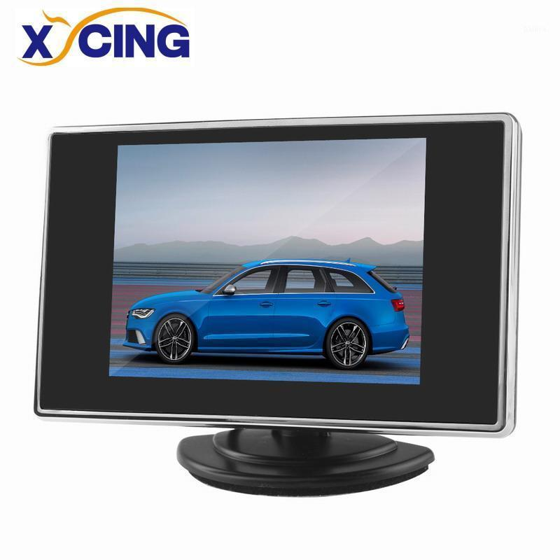 XYCING New 3.5 inch Car Monitor Vehicle Rear View Monitor for Reverse Backup Rearview Camera1