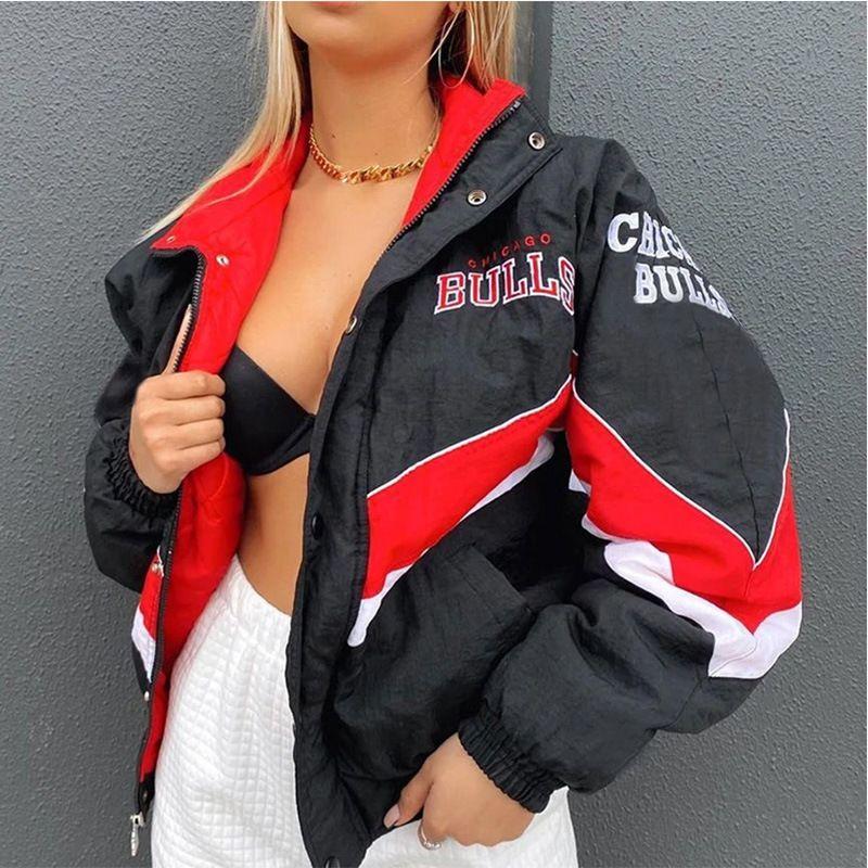Women Designers Fashion Clothing 2020 Winter New Printing Leisure Loose Long Sleeve Windbreaker Spring Coat Trend