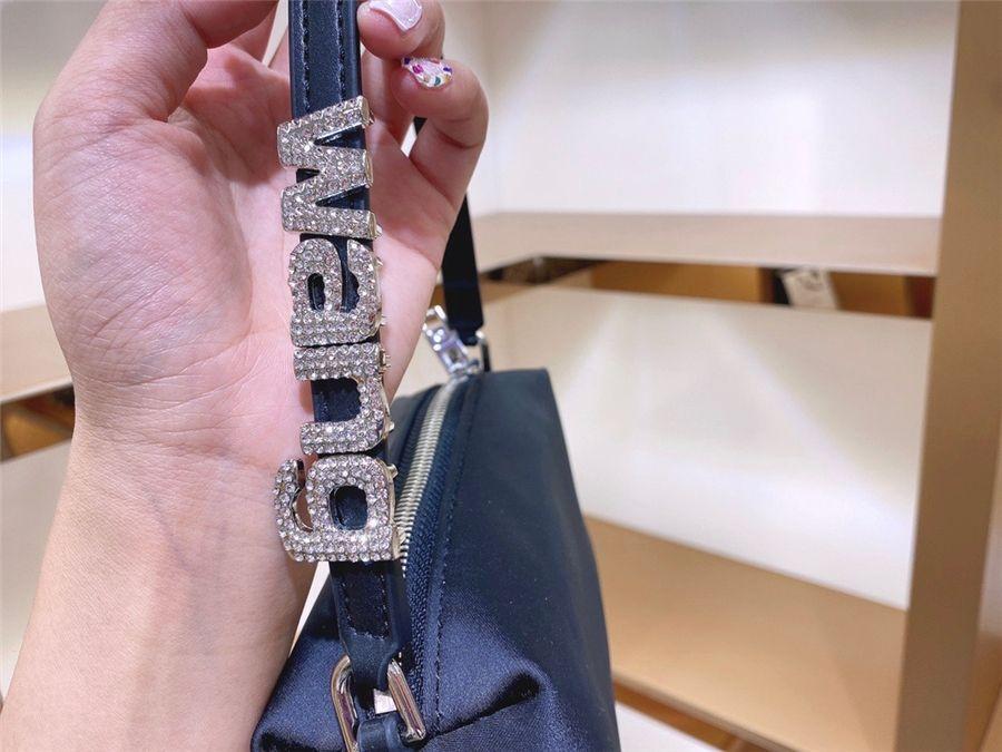 Женщины Handinsdiamond Bag женская шерсть 2020 новый SLU мода классический косой Capaci цепочка Tote Insdiamond сумка Handinsdiamond сумка и кошельки CRO # 86933111