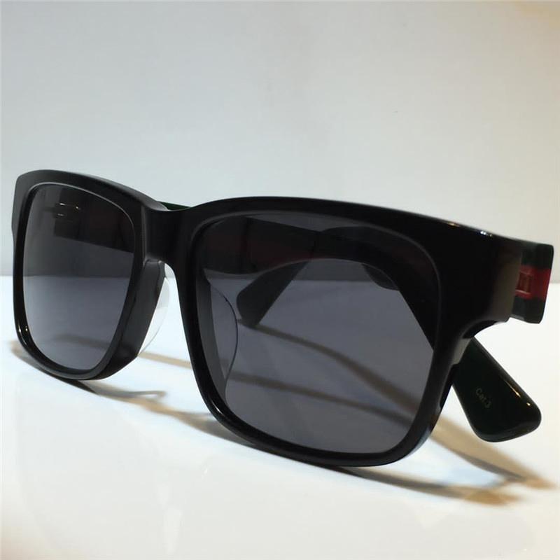 0340 الأزياء النظارات الشمسية الرجال والنساء ساحة الصيف نمط لوحة مستطيلة إطار كامل أعلى uv حماية مع غطاء واقية