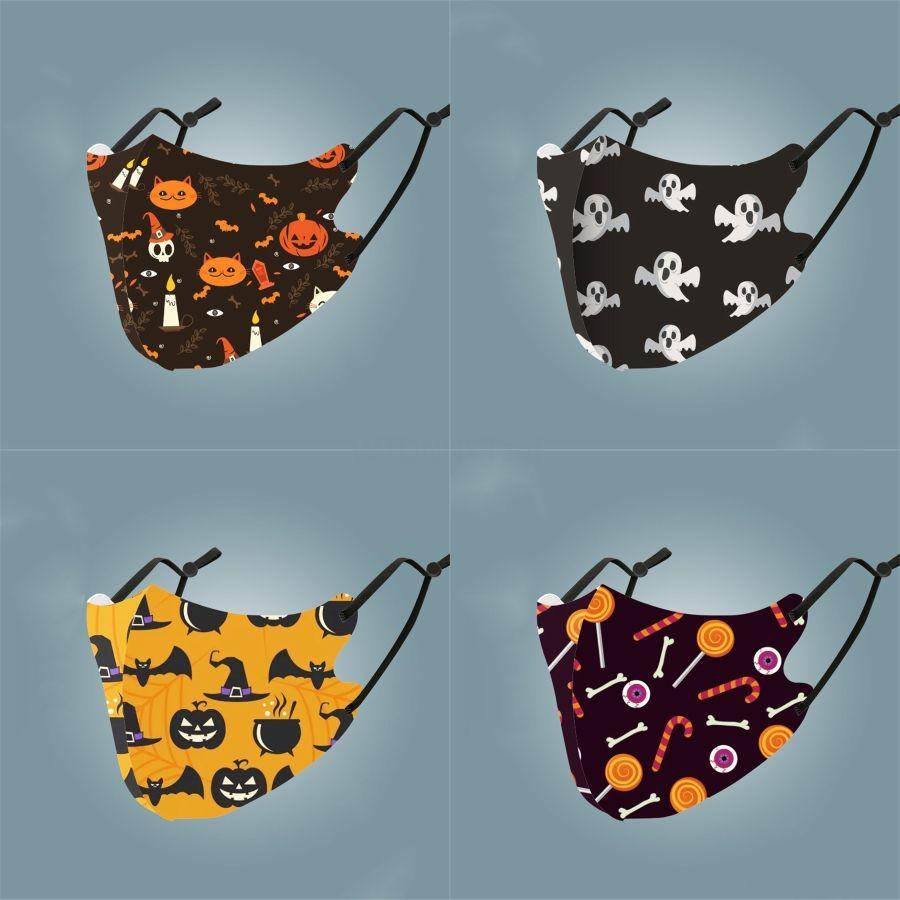 Máscara mulheres Desinger Famoso poliéster face Letters Imprimir Máscaras Boca Máscaras # 743 Outdoor Ciclismo respirável Boca-Mufflewashable