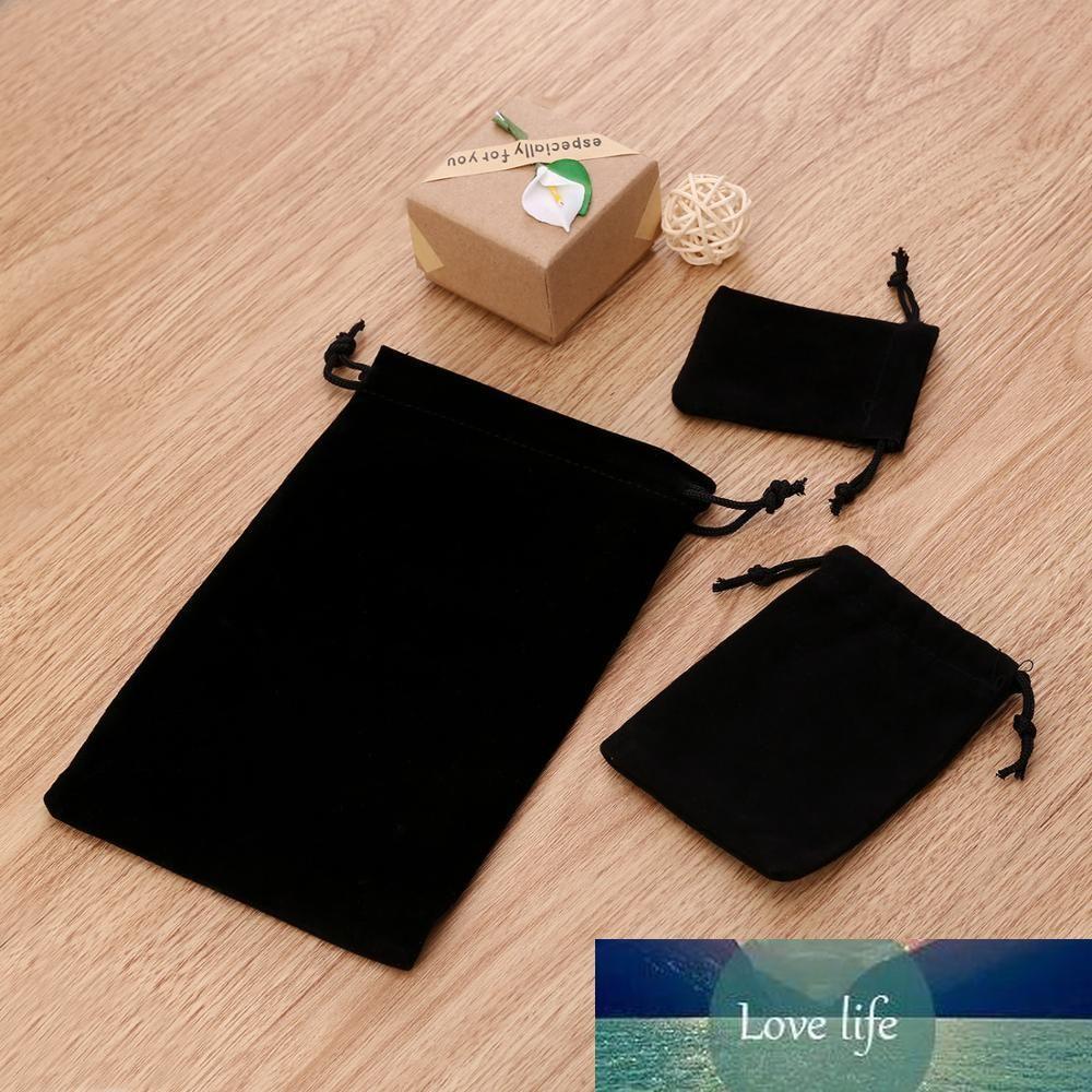 Rinhoo 3 tailles d'emballage étui en velours avec cordon de serrage sac cadeau pour sachet de bijoux de mariage Simple Things Party Sac en tissu du cadeau