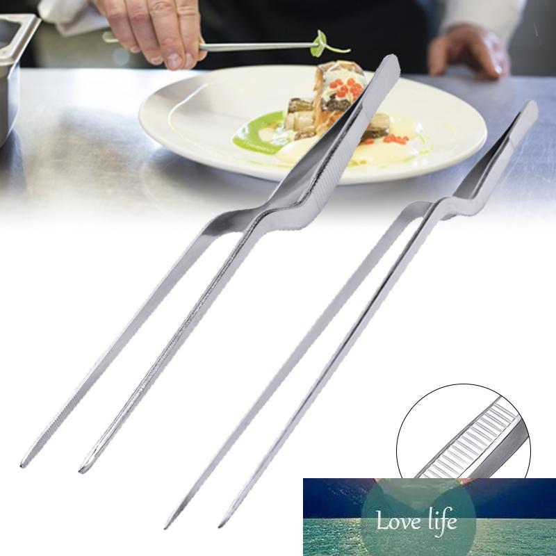 14/16/20 / 23/26/30cm Cuisine Tweezer BBQ CLAVIER CLIP MINI Pinces en acier inoxydable Portable pour pique-nique Barbecue Cuisine
