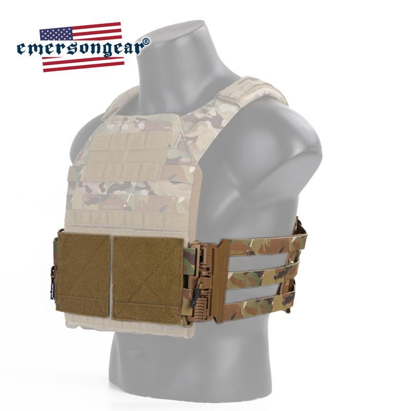 Set de boucle de suppression tactique Cummerbund Système de montage System Système rapide pour gilet tactique JPC 419 420