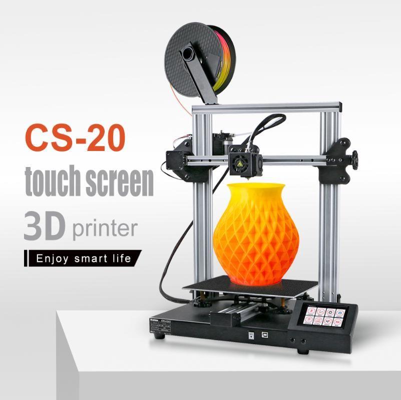 CREASEE CS20 Frame Metal 3D Printer High Precision Profesional 3D Printing DIY Kit Upgrade Full Touch Screen Printers Print 3 D